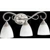 Quorum Powell 3 Light Vanity Light