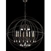 Quorum Cilia 8 Light Candle Chandelier
