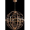 Quorum Salento 6 Light Candle Chandelier