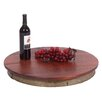 2 Day Designs, Inc Wine Stave Laisy Daisy Lazy Susan