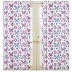 Sweet Jojo Designs Spring Garden Curtain Panels (Set of 2)