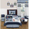 Sweet Jojo Designs Ocean Blue Bedding Collection