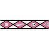 "Sweet Jojo Designs Soccer Pink 15' x 6"" Geometric Border Wallpaper"