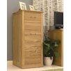 Baumhaus Mobel 3-Drawer Vertical Filing Cabinet
