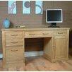 Baumhaus Mobel 5 Drawer Computer Desk