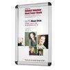 Quartet® Clip-Frame Wall and Desktop Sign Holder in Aluminum