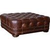 A.R.T. Kennedy Leather Storage Ottoman