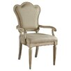 A.R.T. Provenance Upholstered Back Arm Chair (Set of 2)