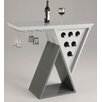 Chintaly Imports Mulberry Bar with Wine Storage
