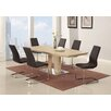 Chintaly Imports Zoey Extendable Dining Table