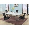 Chintaly Imports Ebony Extendable Dining Table