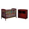 AFG Furniture Leila 2 Piece Crib Set