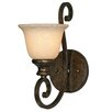 Golden Lighting Heartwood 1 Light Wall Sconce