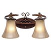 Golden Lighting Loretto 2 Light Bath Vanity Light
