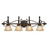 Golden Lighting Jefferson 4 Light Bath Vanity Light