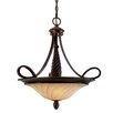 Golden Lighting Torbellino 3 Light Bowl Inverted Pendant