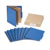 Acco Brands, Inc. Presstex Colorlife Classification Folders, Letter, 6-Section, 10/Box