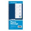 Adams Business Forms 2 Part Carbonless Spiral Phone Message Book (Set of 900)