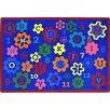 Joy Carpets Kid Essentials Blue Area Rug