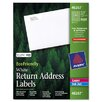 Avery Consumer Products Ecofriendly Labels, 2000/Pack