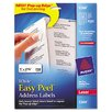 Avery Consumer Products 5260 Easy Peel Laser Address Labels, 750/Pack