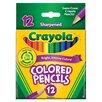 Crayola LLC Short Barrel Colored Pencil (12 Count)