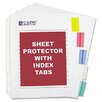 C-Line Products, Inc. Poly Sheet Protectors with Index Tabs (5/Set) (Set of 2)
