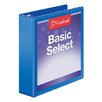 Cardinal Brands, Inc BasicSelect ClearVue Round Ring Binder (Set of 36)