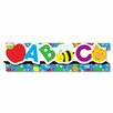 Carson-Dellosa Publishing Abcs/123S8 Pop-It Border and 8 Strips/Pack Classroom Border (Set of 2)