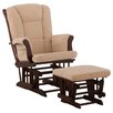 Storkcraft Tuscany Glider with Ottoman