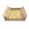 Badger Basket Cedar 4' Rectangular Sandbox with Cover