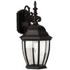 Craftmade Bent Glass 1 Light Wall Lantern