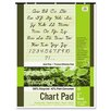 Pacon Corporation S.A.V.E Recycled Chart Pad, 1In Ruled