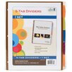 Paris Business Products Doc It Tab Binder Index Dividers