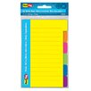 """Redi-Tag Corporation 4"""" x 6"""" 60 Count Divider Note"""