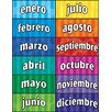 Teacher Created Resources Months of The Year Spanish Chart (Set of 3)