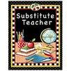 Teacher Created Resources Substitute Teacher Pocket Folder Tc Lesson Planner (Set of 3)