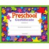Trend Enterprises Preschool Certificate (Set of 2)