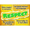 Trend Enterprises Respect Poster (Set of 3)