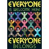Trend Enterprises Everyone Is Welcome Here Everyone Poster (Set of 3)