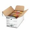 Universal® Economy Storage Box with Tie Close, 4/Carton