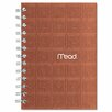Mead Recycled Notebook, 5 X 7, 80 Sheets, College Ruled, Perforated, Assorted (Set of 2)