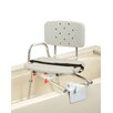 Eagle Health Tub Mount Transfer Bench with Molded Swivel Seat / Back