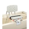 Eagle Health Tub Mount X-Short Transfer Bench with Molded Swivel Seat / Back