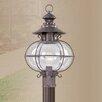 Livex Lighting Harbor 1 Light Outdoor Post Lantern