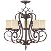 Livex Lighting Millburn Manor 5 Light Candle Chandelier
