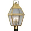 "Livex Lighting Augusta 3 Light 11.25"" Post Lantern"