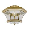 Livex Lighting Fairfield 3 Light Semi Flush Mount