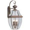 Livex Lighting Monterey 4 Light Wall Lantern