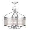 Livex Lighting Westfield 6 Light Drum Pendant